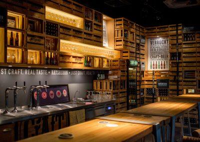 Ratsherrn Brauerei in den Hamburger Schanzen-Hoefen Hamburg