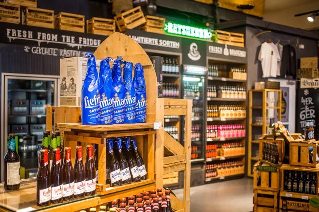 Craft Beer Store in der Lagerstraße