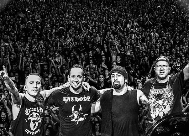 Getränkebelieferung Volbeat-Konzert