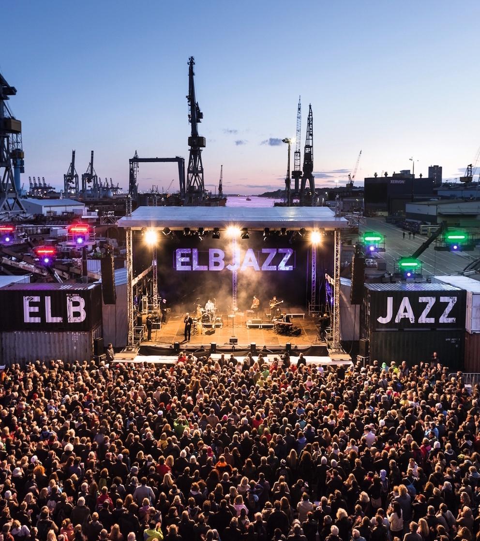 Veranstaltungsbelieferung Elbjazz Festival