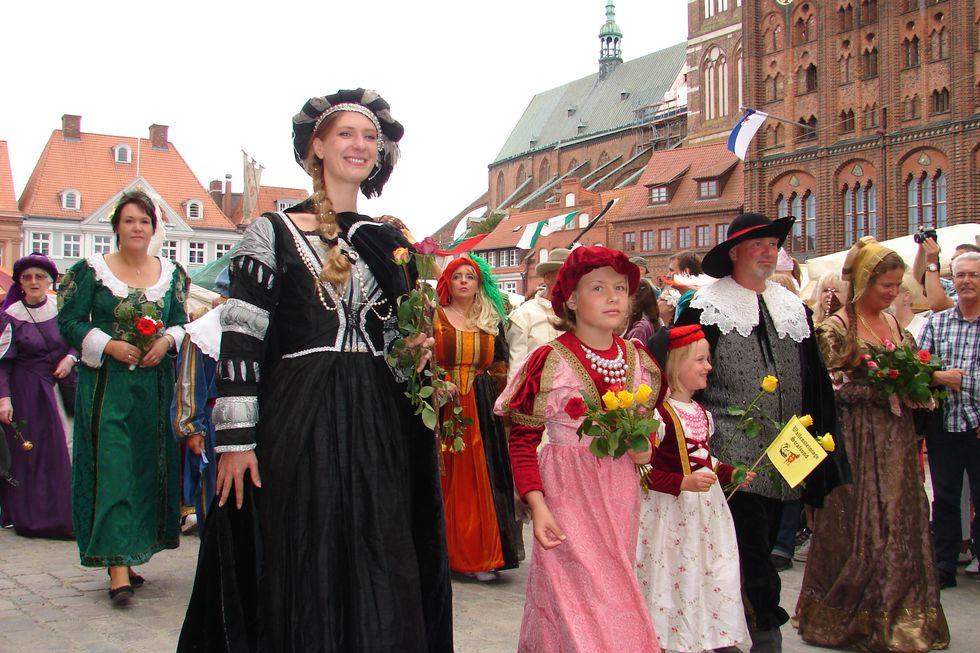Veranstaltungsbelieferung Wallensteintage Stralsund